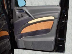 Mercedes Viano Office-Van Doorboards mit 3-Wege-Soundsystem