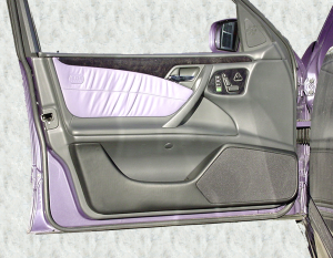 Mercedes E-Klasse W 210 Limousine / T-Modell »ab« Bj 3/99 Doorboards mit 2-Wege-Soundsystem