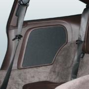 Porsche 911 (997) Coupé Rearboards mit 2-Wege-Soundsystem