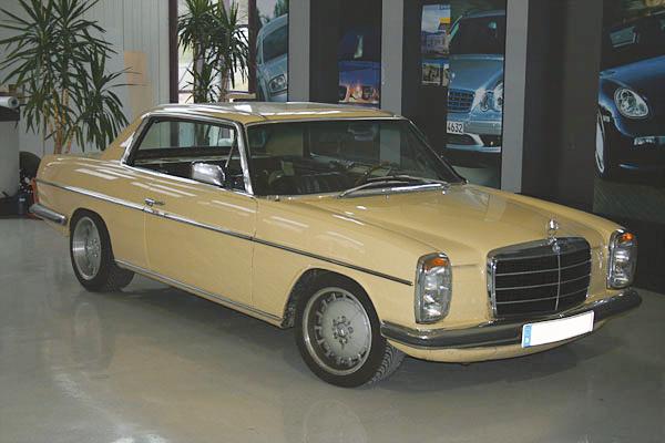 Sonderanfertigung Youngtimer Mercedes 8 Coup 233 Jehnert