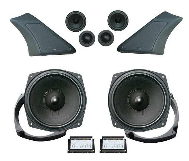 vw t5 soundsystem fahrerhaus mit 200mm flat woofern. Black Bedroom Furniture Sets. Home Design Ideas
