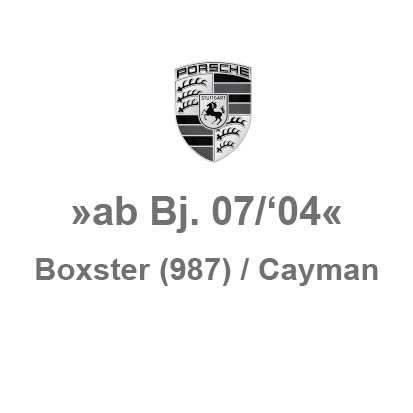 Boxster (987) / Cayman