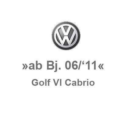 Golf 6 Cabrio