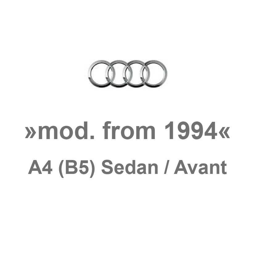 b5 sedan    avant produktkatalog