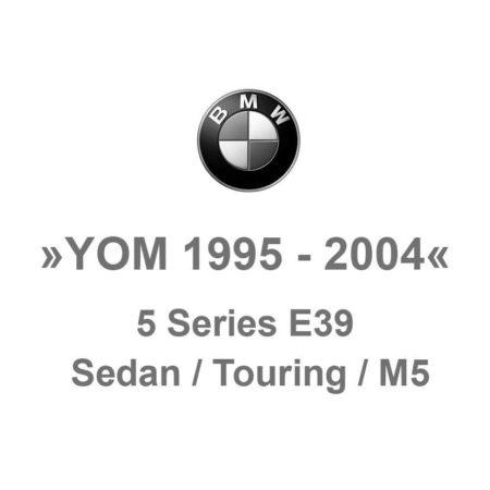 E39 Sedan / Touring / M5