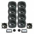 Lautsprecherbestückung Vierfachbass-System