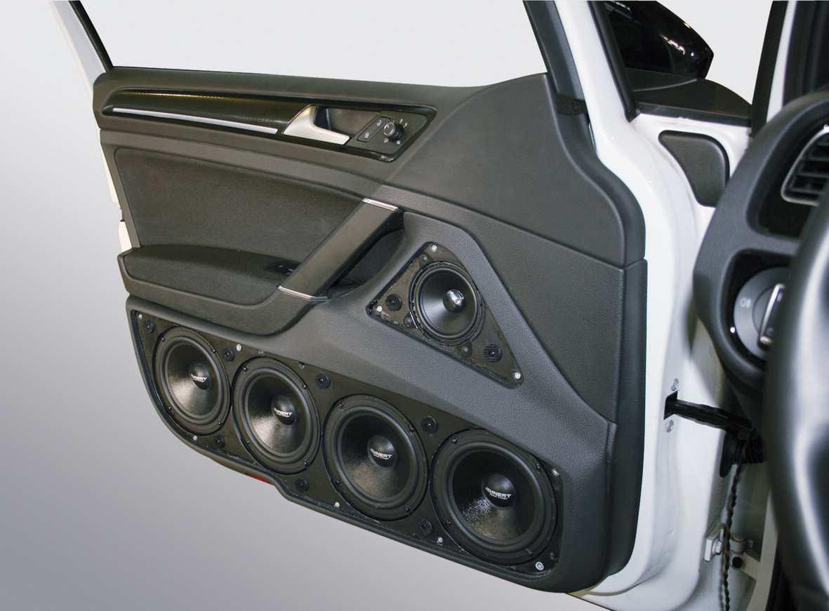 vw golf 7 doorboards mit 3 wege soundsystem jehnert. Black Bedroom Furniture Sets. Home Design Ideas