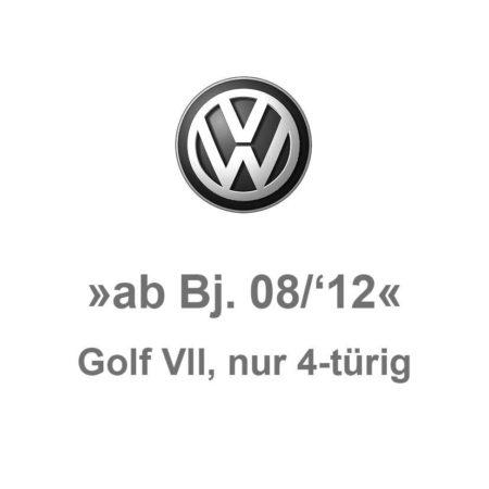 Golf 7 »nur 4-türig«
