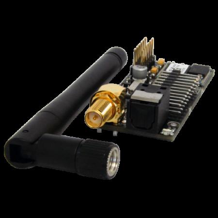 Bluetooth-Modul im Verstärker integriert