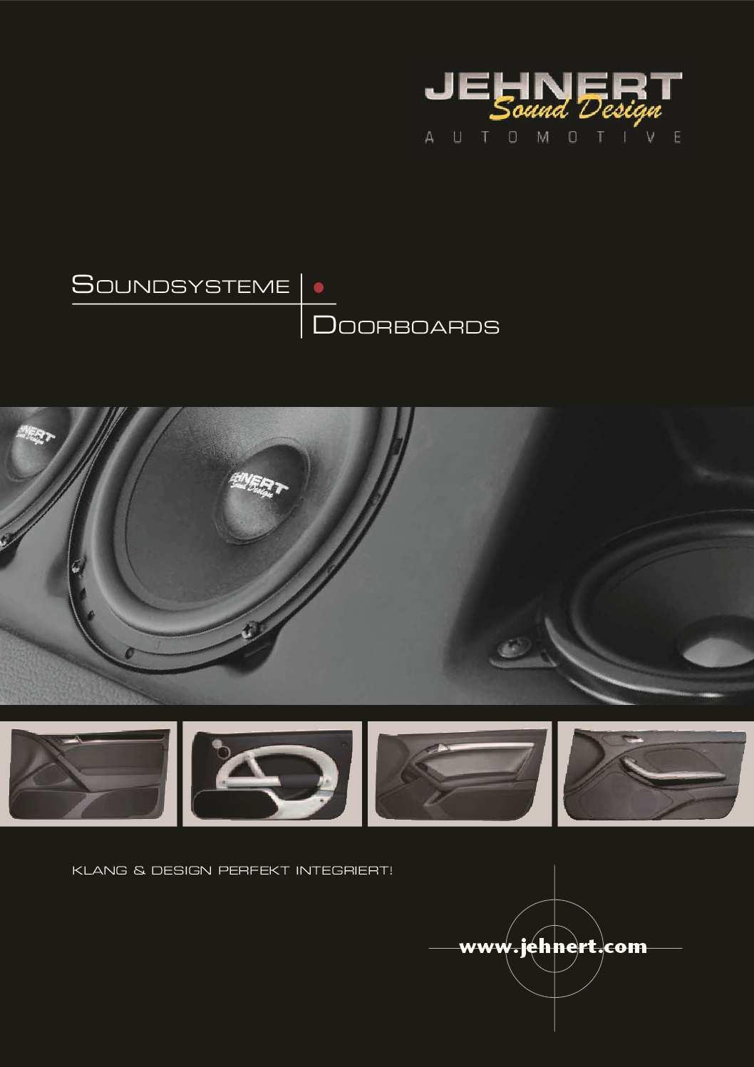 Katalog Doorboards & Soundsysteme 2018