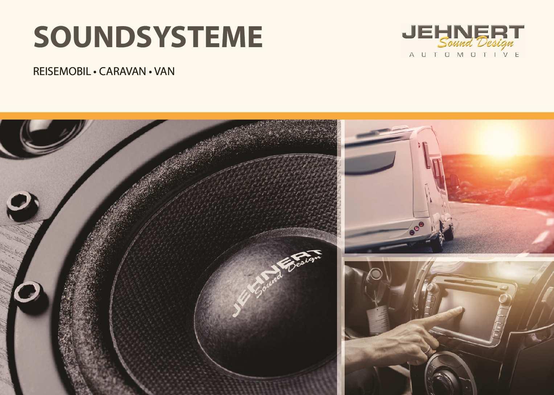 Katalog Soundsysteme Reisemobil - Caravan - Van 2018