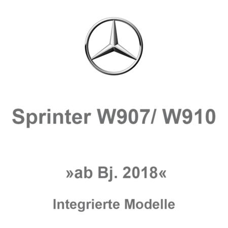 Sprinter W907/W910 - Integrierte Modelle