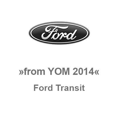 Ford Transit from YOM 2014