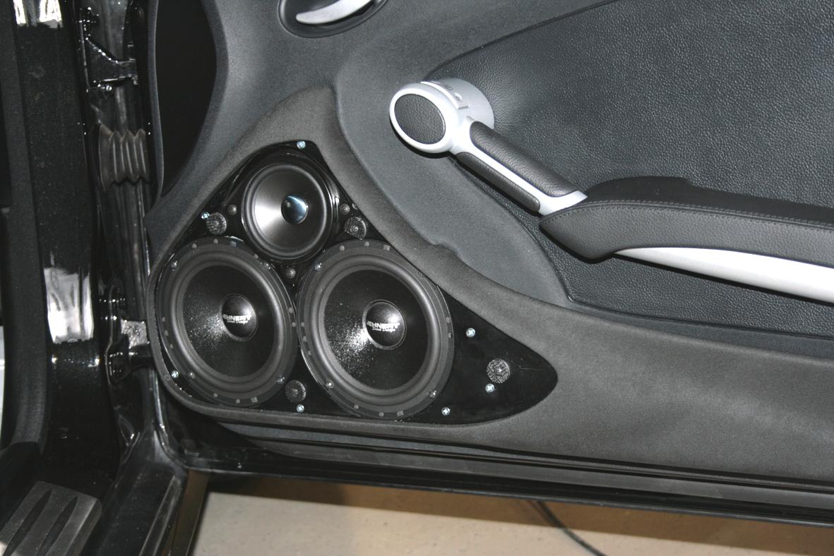 Mercedes Slk R171 Doorboards With 3 Way Soundsystem
