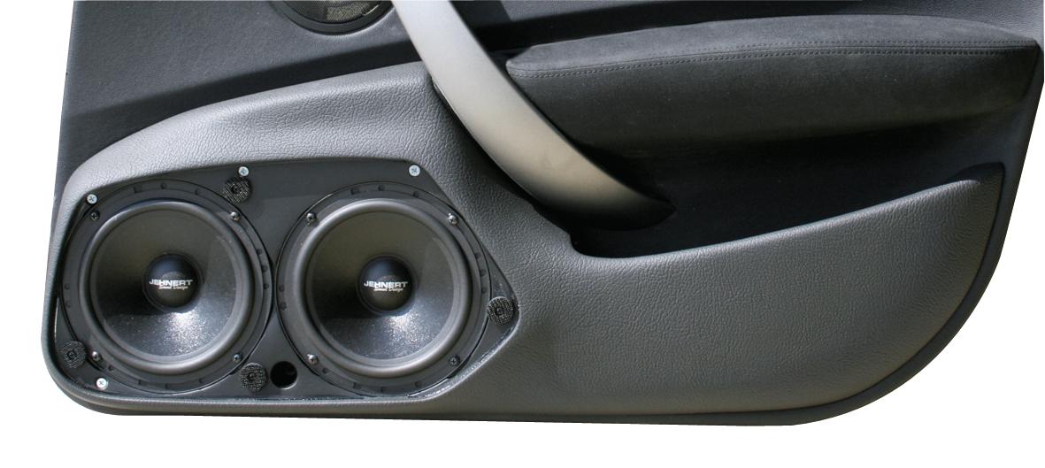 Bmw 1 Series E87 Models To 03 2007 Doorboards With 3 Way Soundsystem Jehnert Sound Design