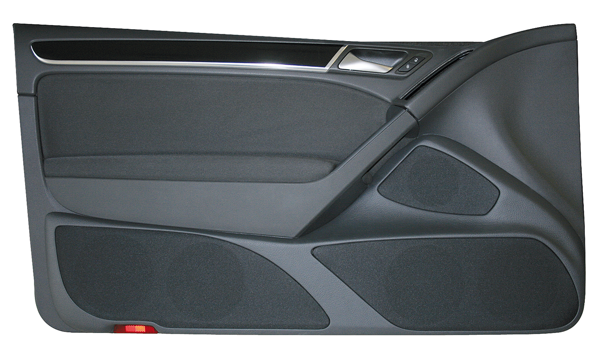 vw golf 6 2 t rig doorboards mit 3 wege soundsystem. Black Bedroom Furniture Sets. Home Design Ideas