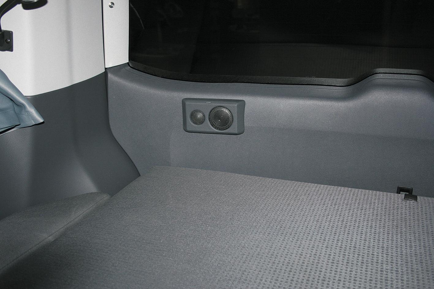 vw t5 2 wege rearsystem jehnert sound design automotive. Black Bedroom Furniture Sets. Home Design Ideas