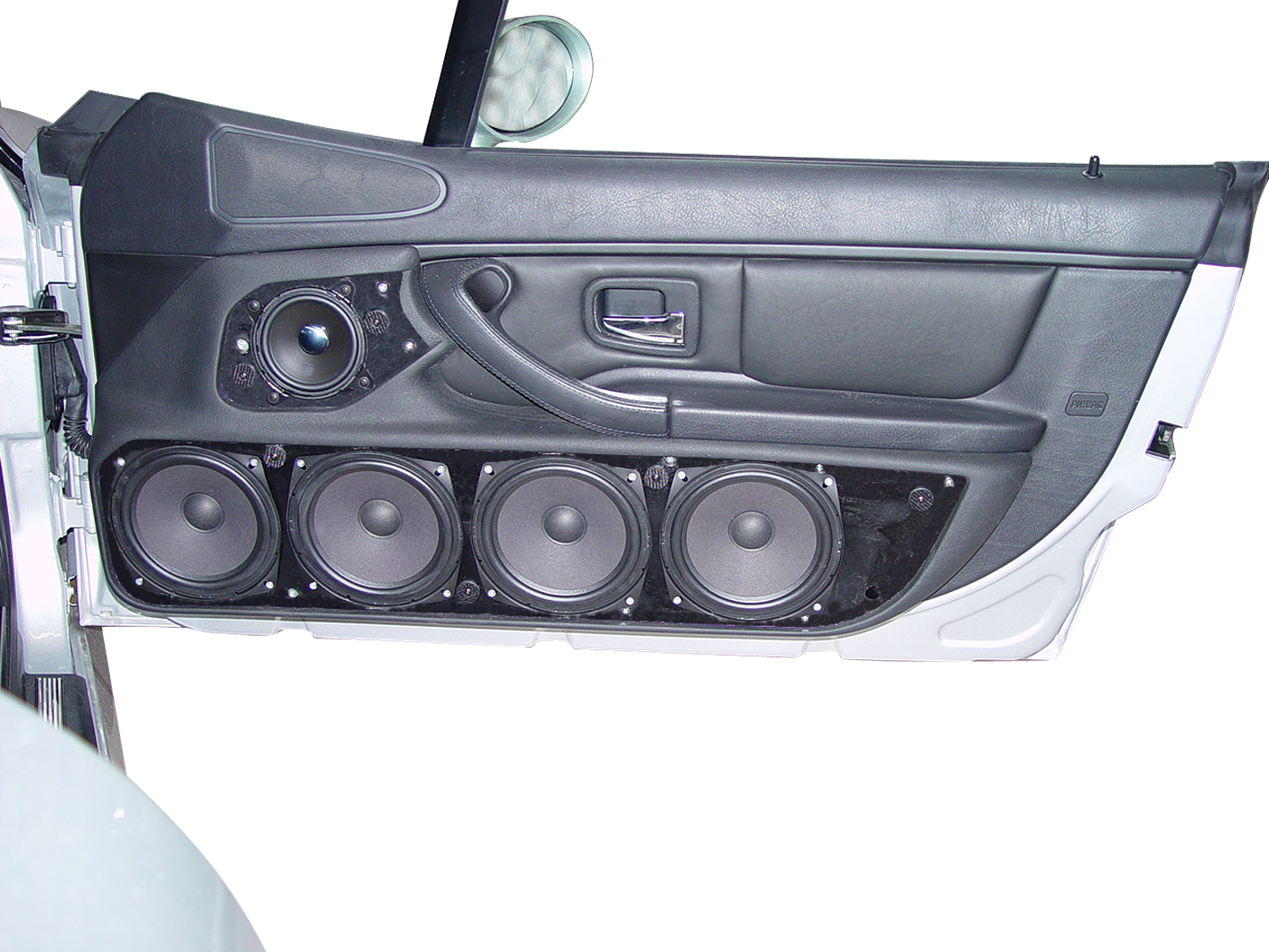Bmw Z3 Doorboards With 3 Way Soundsystem Jehnert Sound