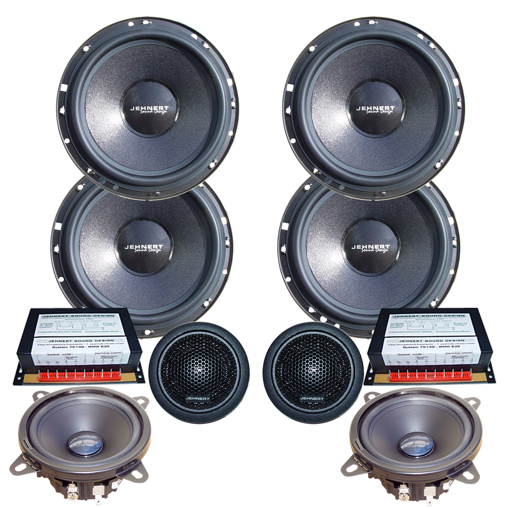 Mercedes c class w202 doorboards with 3 way soundsystem for Mercedes benz c300 sound system